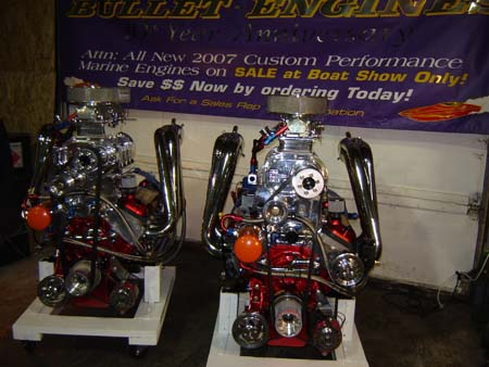 Bullet Engines - Marine and Automotive Crate and High